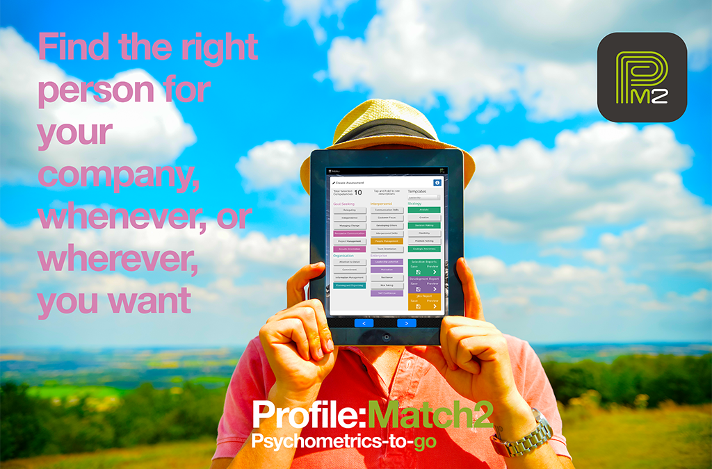 On-the-Go Personality Profiling with the new Profile:Match2 App